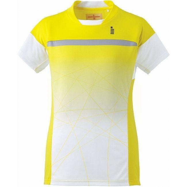 GOSEN ゴーセン T1605 レディースゲームシャツ T1605 カラー イエロー サイズ L