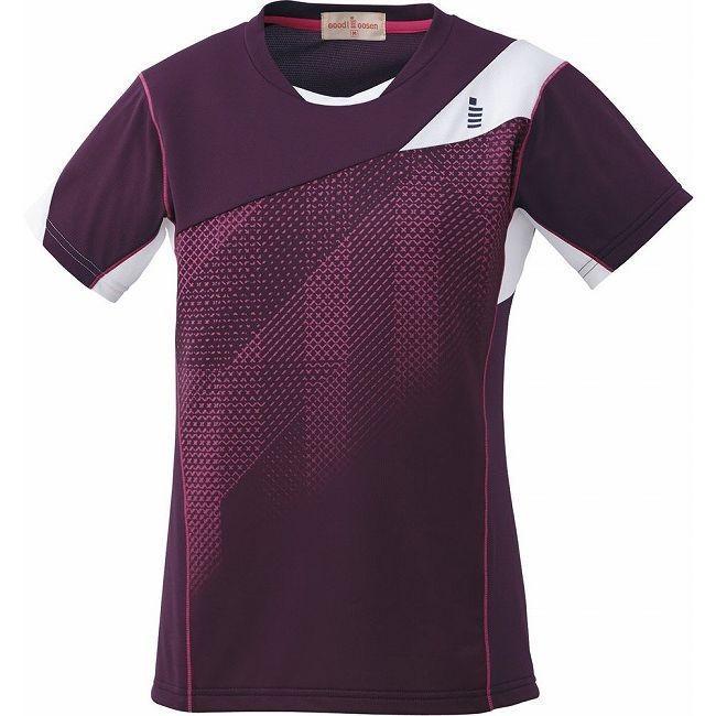 GOSEN ゴーセン T1613 レディースゲームシャツ T1613 カラー ワイン サイズ M
