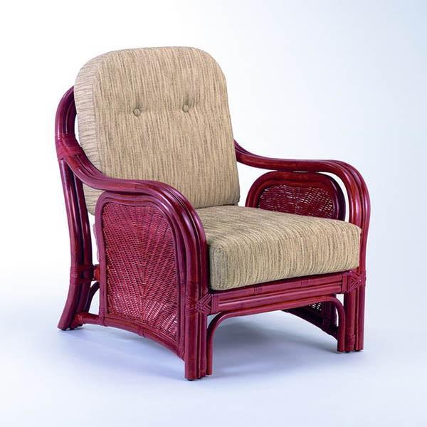 今枝ラタン アームチェア アームチェアー 籐 肘付きー アジアン 籐椅子 おしゃれ ソファ ソファ 1人掛け ソファー A-78D