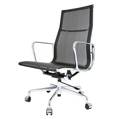 イームズ オフィスチェアアルミナムグループエグゼクティブチェア メッシュ オフィスチェア オフィス家具 高機能チェア 代引不可