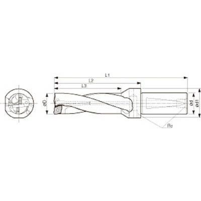 京セラ 京セラ 京セラ ドリル用ホルダ S25-DRZ1854-06 旋削・フライス加工工具・ホルダー c56