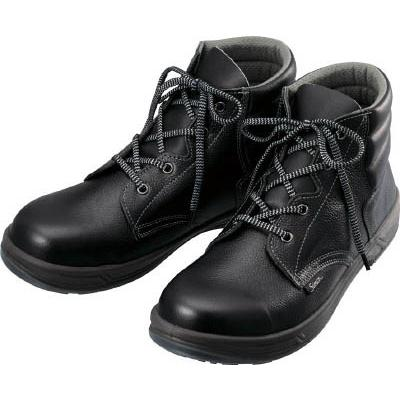 シモン 安全靴 編上靴 SS22黒 26.0cm SS22-26.0 安全靴・作業靴・安全靴