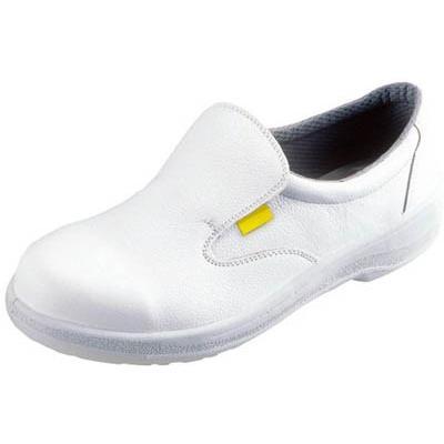 シモン 静電安全靴 短靴 7517白静電靴 26.5cm 7517WS-26.5 安全靴・作業靴・静電安全靴