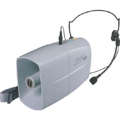 ユニペックス ミニメガホン 3W ウエストホーン TRC-3WH 安全用品・標識・拡声器
