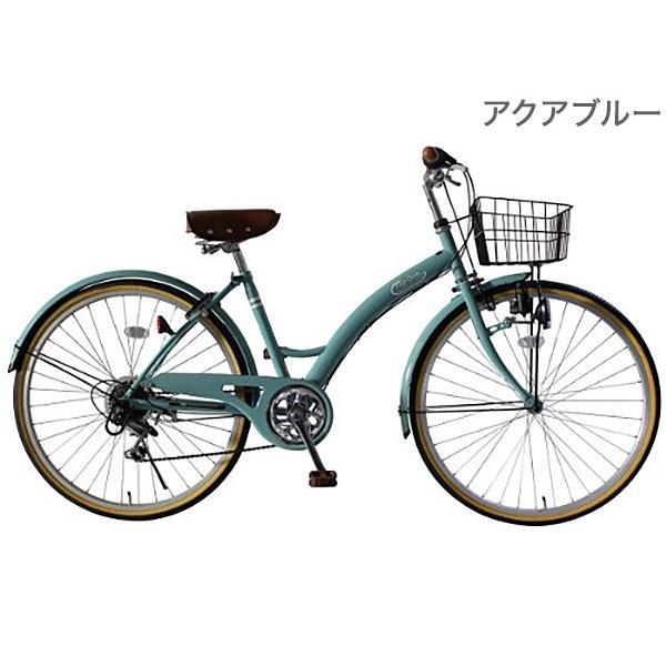 TOP ONE 自転車 26インチ シティサイクル シマノ製6段ギア 前カゴ カギ ライト付 通勤 通学 ママチャリ 代引不可|rcmdse|04