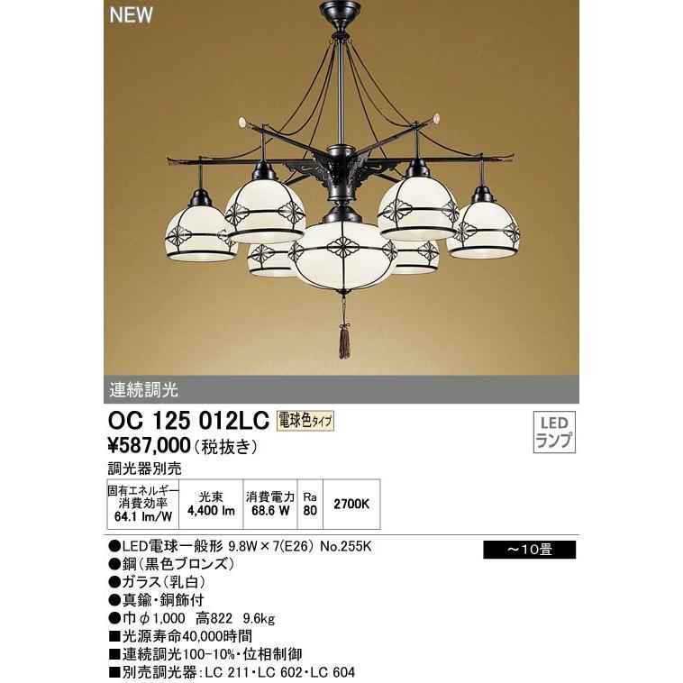 ODELIC オーデリック ペンダントライト OC125012LC