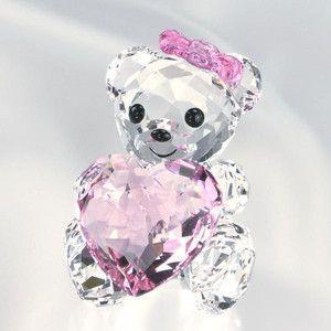 スワロフスキー SWAROVSKI フィギュア・人形 フィギュア 1096732 KRIS BEAR-ONLY FOR YOU