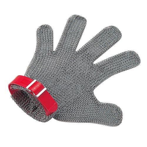 ニロフレックス メッシュ手袋5本指 M M5R-EF 右手用(赤) STBD804