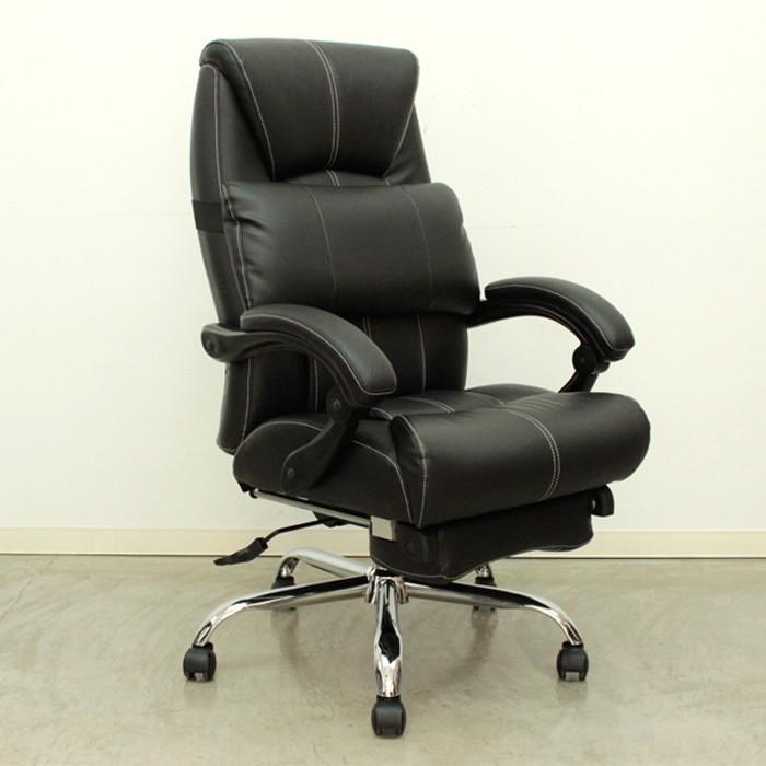 オフィス チェア パソコン リクライニング フットレスト オットマン オットマン デスク ハイバック 椅子 イス Vigor ビガー 代引不可