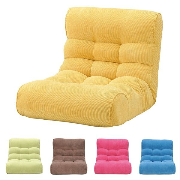 ピグレットビッグ2ndコーディロイ ピグレットビッグ2ndコーディロイ ピグレットビッグ2ndコーディロイ 座椅子 ソファ リクライニングチェア フロアチェア 超多段階 1P 一人掛け 代引不可 8eb