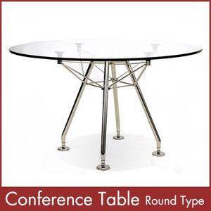 カンファレンステーブル 丸型 Conference Table Round Type 1年保証付 送料無料