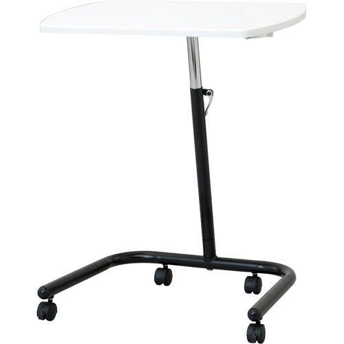 ナカバヤシ キャスターテーブル 高さ可変タイプ ホワイト FDC-202W 代引不可