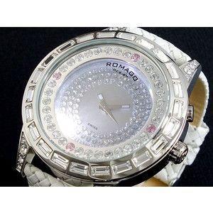 春夏新作モデル ロマゴ ROMAGO ROMAGO DAZZLE RM006-1477SV-WH 腕時計 DAZZLE RM006-1477SV-WH, 蛍光灯屋 丸徳:da80b00c --- airmodconsu.dominiotemporario.com
