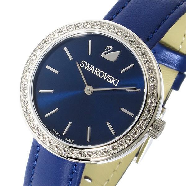 大特価!! スワロフスキー SWAROVSKI クオーツ レディース 腕時計 5213977 ブルー, アルカヤ靴店(928ウイング) 33ba7283