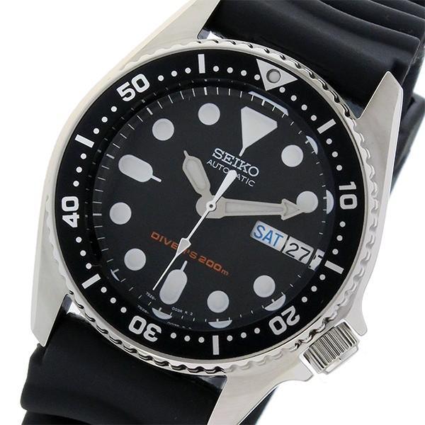 【激安アウトレット!】 セイコー SEIKO ダイバー 自動巻き メンズ 腕時計 SKX013K ブラック, ハンザンチョウ dd8d1aa8