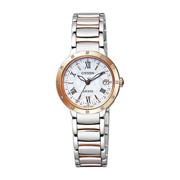 魅力の シチズン CITIZEN 国内正規 エクシード CITIZEN レディース 腕時計 ES9334-58W 腕時計 国内正規, ホウジョウチョウ:4ad4835e --- airmodconsu.dominiotemporario.com