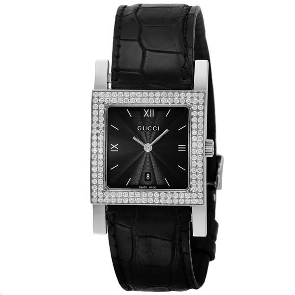 【18%OFF】 グッチ GUCCI 7900 クオーツ レディース 腕時計 YA079306 ブラック, インポートブランド ロータス 5b2bcaa9