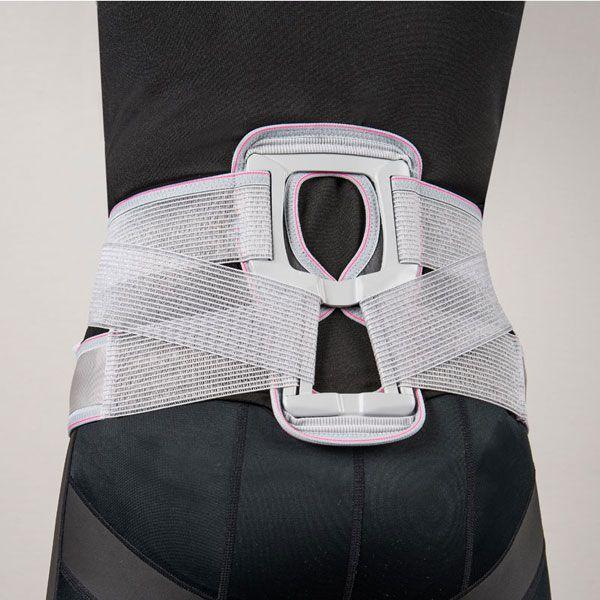 皮膚感覚 スマートベルト腰·骨盤 [男女兼用] グレー 日本製 Mサイズ(グレー)/6点入り 代引不可