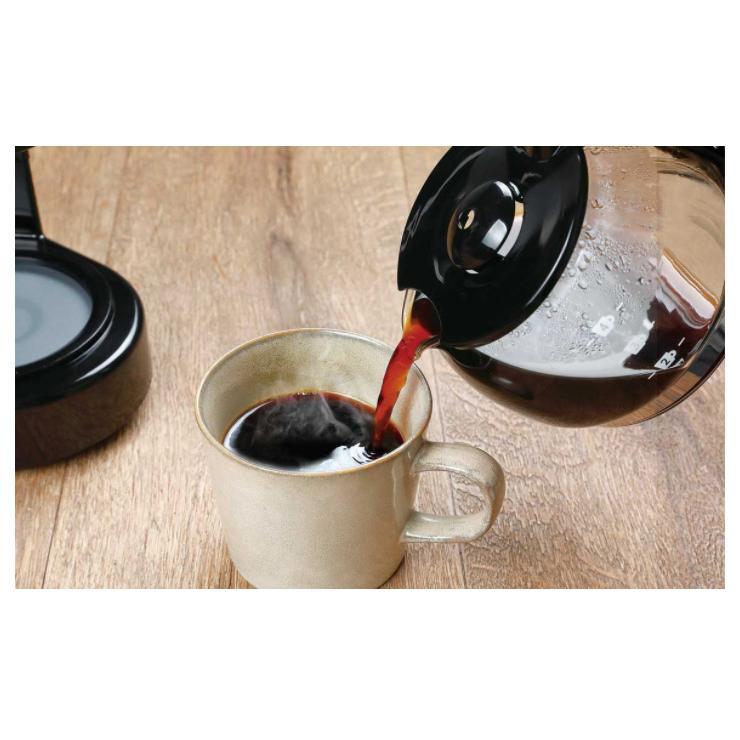 ドリップコーヒーメーカー 約650ml メッシュフィルター 保温機能 自動OFF機能 珈琲 コンパクト CF-02 KDCF-002B 簡単|rcmdse|10