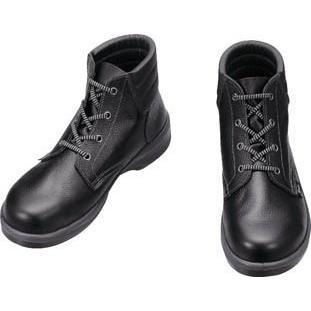 シモン 安全靴 編上靴 7522黒 25.0cm 7522N-25.0 安全靴・作業靴・安全靴