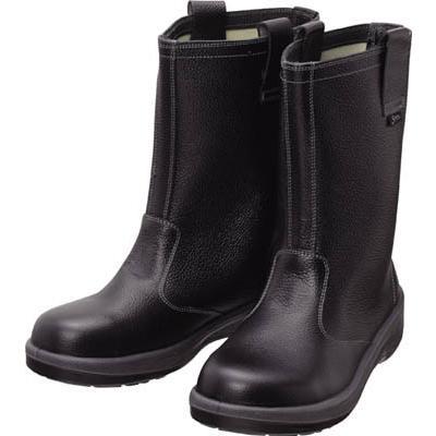 シモン 安全靴 半長靴 7544黒 24.0cm 7544N-24.0 安全靴・作業靴・安全靴