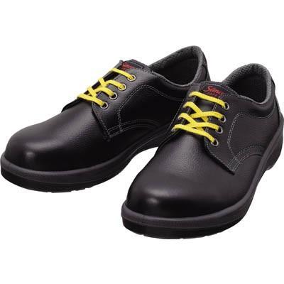 シモン 静電安全靴 短靴 7511黒静電靴 25.0cm 7511BKS-25.0 安全靴・作業靴・静電安全靴