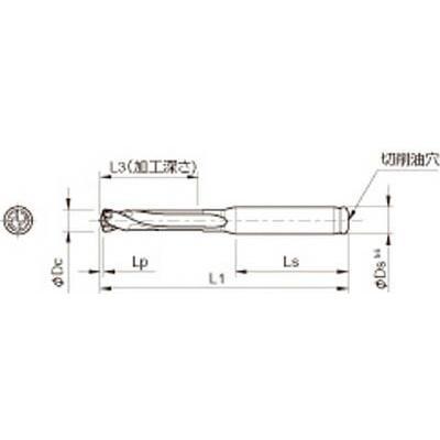 京セラ ドリル用ホルダ ドリル用ホルダ ドリル用ホルダ SS16-DRC150M-3 旋削・フライス加工工具・ホルダー d1e