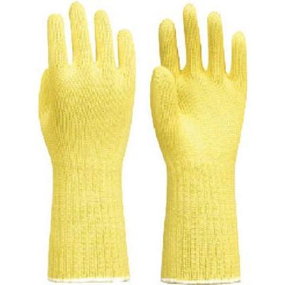 トワロン ケブラーK−110 7ゲージ長手 10双入 L K-110-L 作業手袋・耐切創手袋