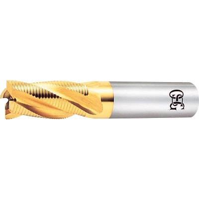 OSG ハイスエンドミル EX-TIN-RESF-35 EX-TIN-RESF-35 EX-TIN-RESF-35 旋削・フライス加工工具・ハイスラフィングエンドミル 30d