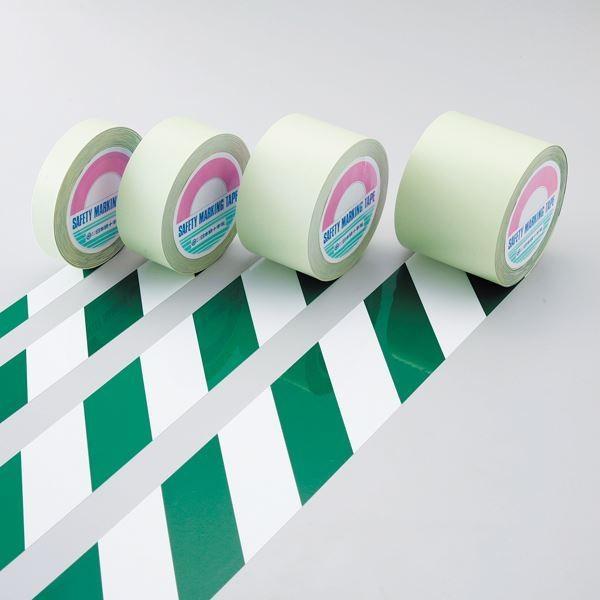ガードテープ GT-101WG カラー:白/緑 100mm幅〔代引不可〕