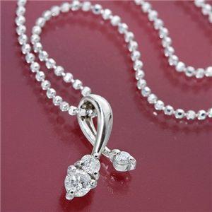 ★お求めやすく価格改定★ プラチナPt チェリーダイヤモンドペンダント/ネックレス, あなたの街のお花屋さんイングの森 87f75e54