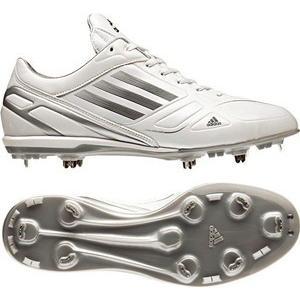 adidas(アディダス) g56052 アディゼロフィックスメタル low ランニングホワイト×カレッジネイビー×メタリックシルバー 245