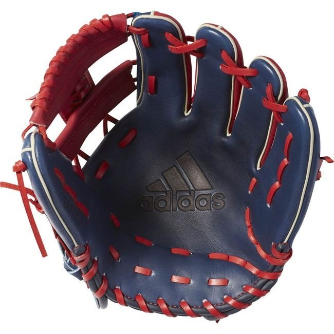 adidas アディダス adidas Baseball 軟式カラーグラブ IH DMT75 カラー カレッジエイトバーガンディ×ミステリーブルー サイズ LH