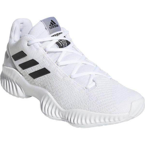 アディダス バスケット シューズ 33.5cm Basketball PRO BOUNCE 2018 LOW ホワイト×コアブラック×クリスタルホワイト BB7410
