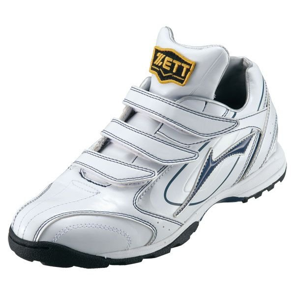 ZETT(ゼット) 野球 トレーニングシューズ グランドジャックTR BSR8743 1129 ホワイト×ネイビー 23.0