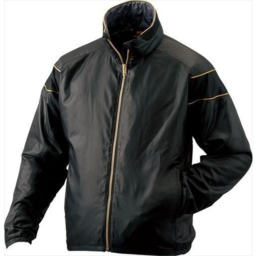 ZETT ゼット PROSTATUS ハイブリッドアウタージャケット ブラック BOG900 1900 サイズ:L 野球&ソフト グランドコート