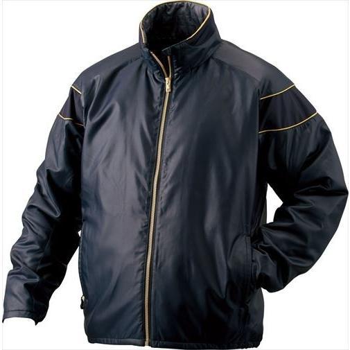 ZETT ゼット PROSTATUS ハイブリッドアウタージャケット ネイビー BOG900 2900 サイズ:XO 野球&ソフト グランドコート