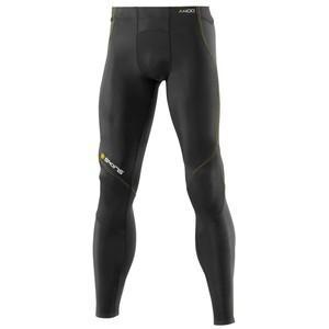 デサント skins(スキンズ) b40001001d a400 メンズ ロングタイツ ブラック/イエロー ブラック×イエロー m