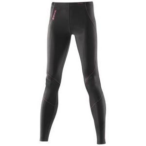 デサント skins(スキンズ) b41054001d a400 ウィメンズ ロングタイツ ブラック/コーラル ブラック×コーラル s