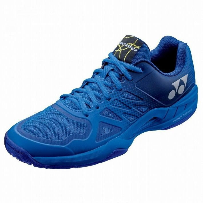 Yonex サイズ 27.0 テニスシューズ POWER CUSHION AERUSDASH 2 AC SHTAD2AC カラー ブルー