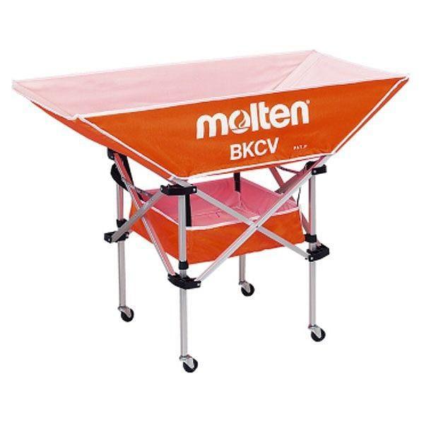 【驚きの価格が実現!】 モルテン Molten 折りたたみ式平型軽量ボールカゴ 背低 オレンジ BKCVLO, ジュエリー YouMe b06c8bc8