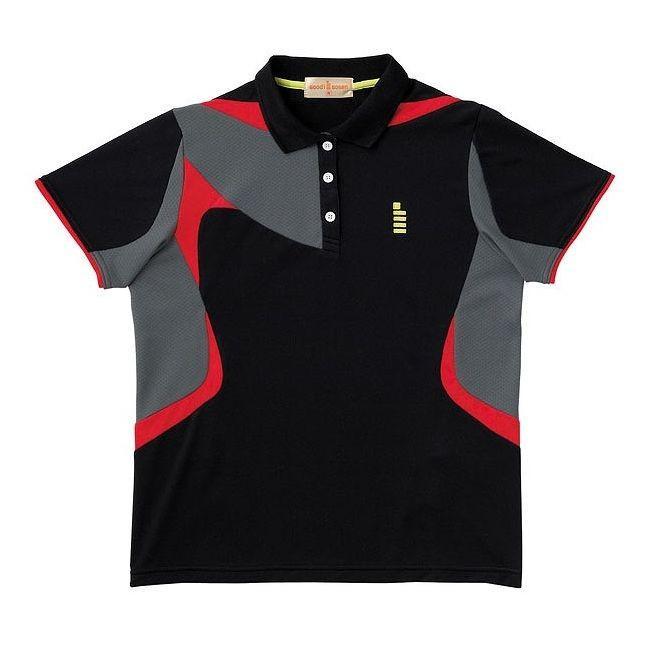 GOSEN ゴーセン T1405 レディースゲームシャツ T1405 カラー ブラック サイズ S