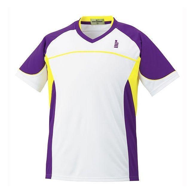 GOSEN ゴーセン ゲームシャツ T1504 カラー パンジー サイズ S
