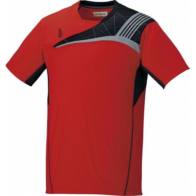 GOSEN ゴーセン T1608 ゲームシャツ T1608 カラー レッド サイズ LL