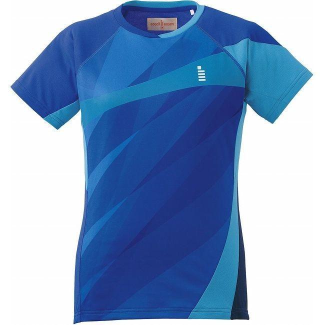 GOSEN ゴーセン T1607 レディースゲームシャツ T1607 カラー ロイヤルブルー サイズ L