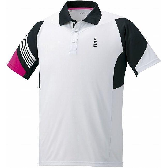GOSEN ゴーセン T1600 ゲームシャツ T1600 カラー ホワイト サイズ S