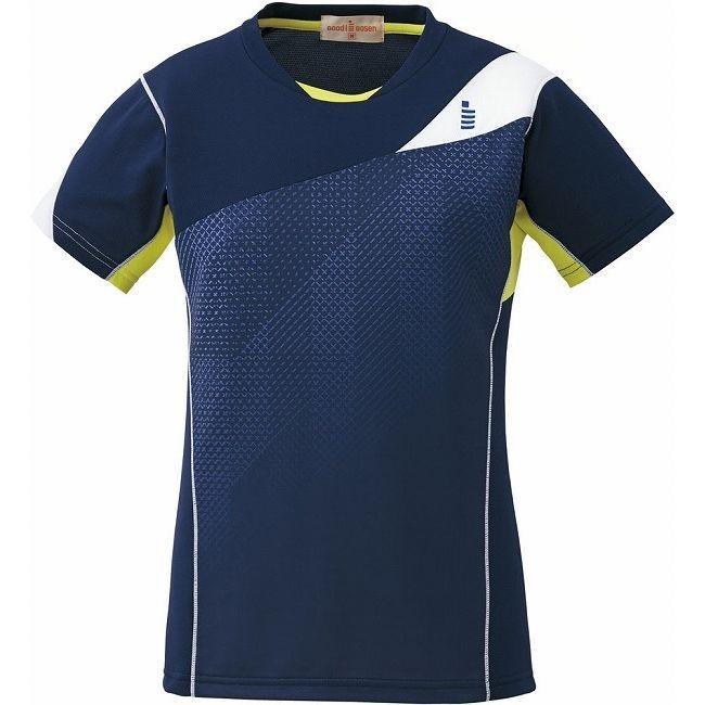 GOSEN ゴーセン T1613 レディースゲームシャツ T1613 カラー ネイビー サイズ S