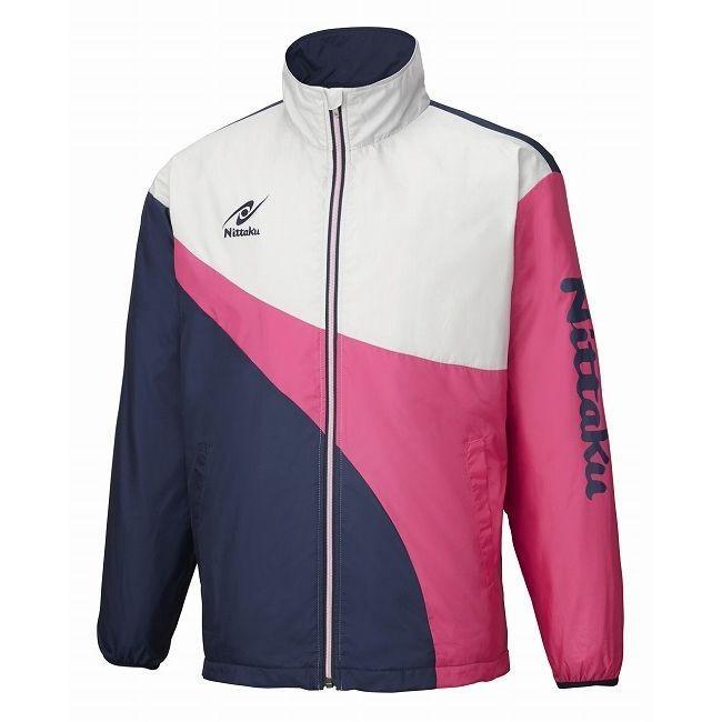 ニッタク Nittaku 卓球アパレル LIGHT WARMER SPR SHIRT ライトウォーマーSPRシャツ 男女兼用 NW2848 カラー ピンク サイズ 3S