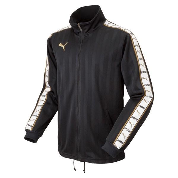 puma(プーマ) サッカー トレーニングジャケット 902395 05黒-whit