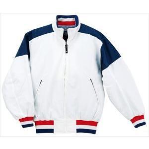 デサント(DESCENTE) グランドコート DR202 WNV ホワイト×ネイビー